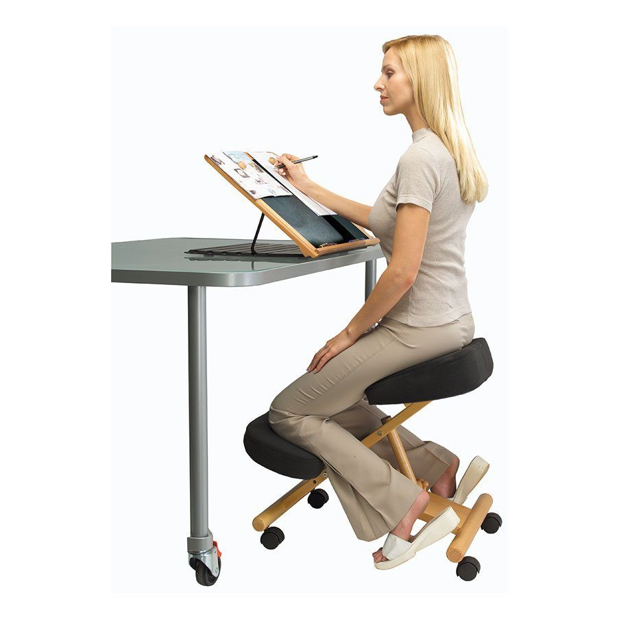 shop the chair adjustable gas back kneeling office